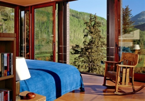 log-cabins:  What a way to wake up in the morning!