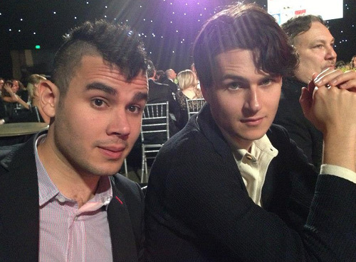 Rostam and Ezra at Music Cares - Bruce Springsteen Person of the Year event last February 8, 2013 (Photo by Emily Lazar)