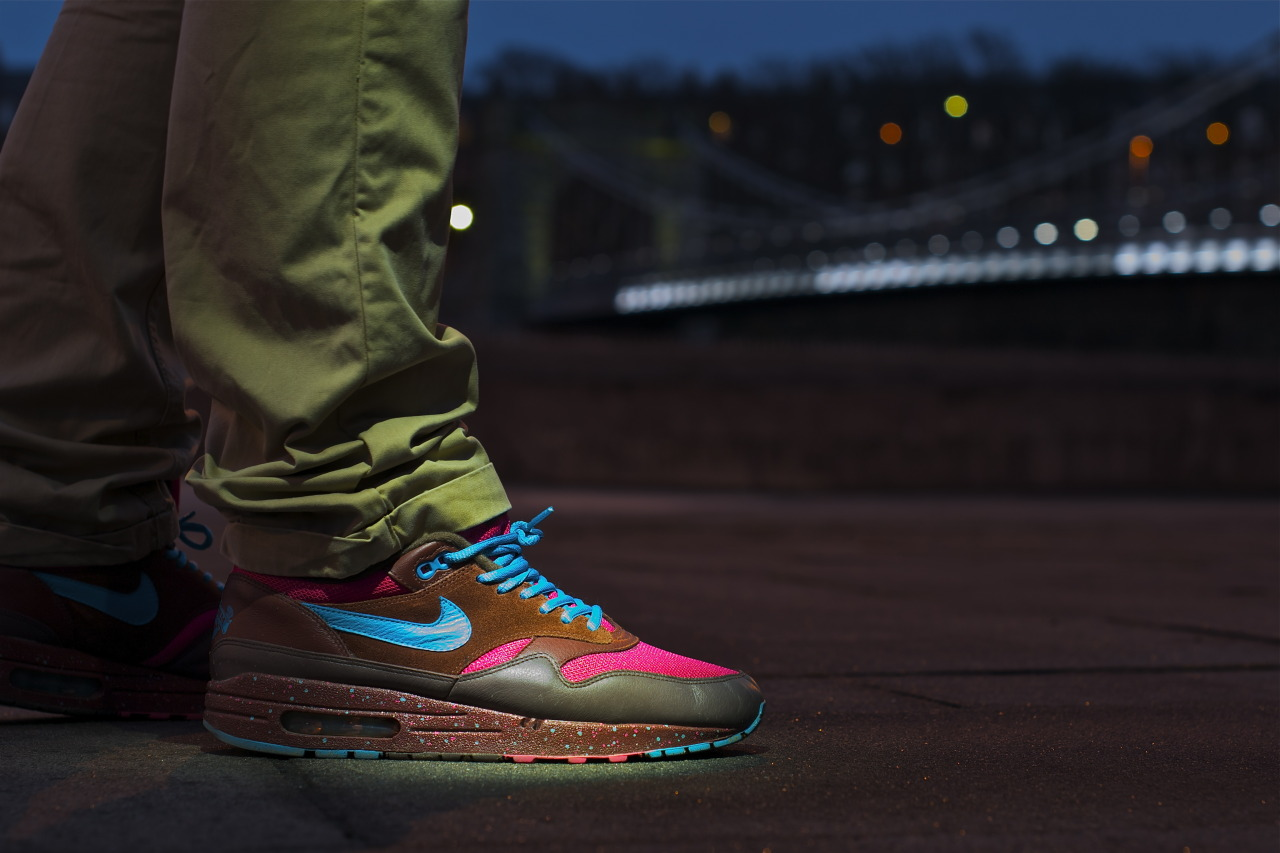 sweetsoles:  Nike Air Max 1 'Amsterdam' (by s3mgw)  Sick Nike AirMax's