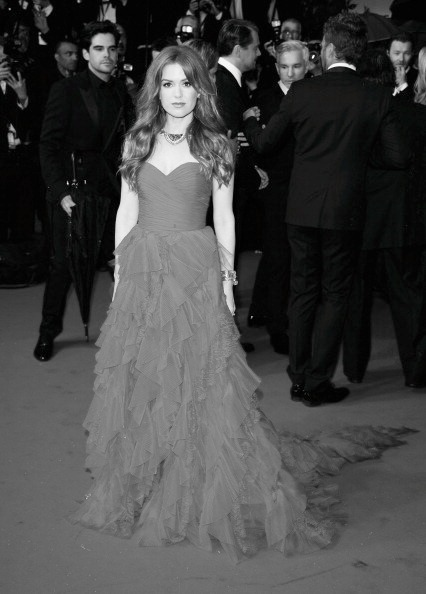 hauteinnocence:  Isla Fisher at the 2013 Cannes Film Festival