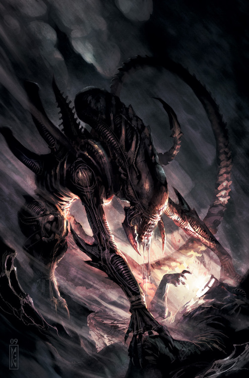 a-giant-spider:  By Raymond Swanland