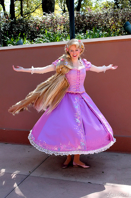 disn3yw0rld:  Rapunzel by disneylori on Flickr.