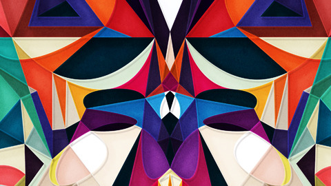 """Circles of Shapes and Colors"" 