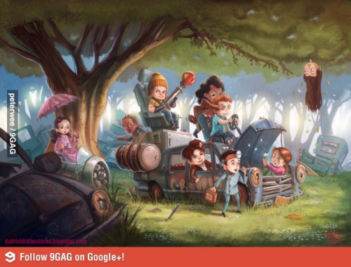 fuckyeahfirefly:  The Firefly characters re-imagined as children