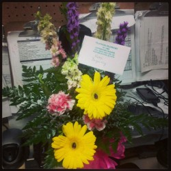 the flowers my gm sent me!!!!