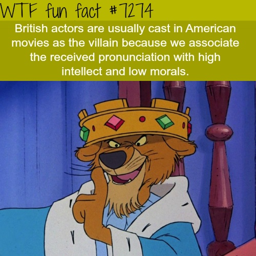 british facts movies accent villains