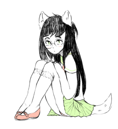 kingkimochi:  i wanted to draw some shoujo jade