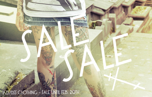 Checkout  our Major Sale until Feb 20th. In preparation of our new collection. Help us make room for the new collection. http://kissdissclothing.bigcartel.com