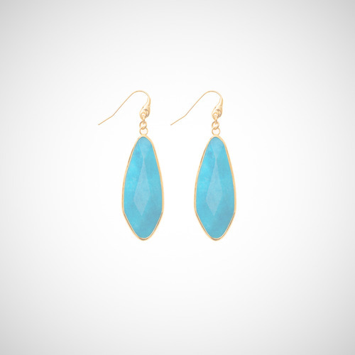 Turquoise Gemstone Earrings Taylor Swift Style from swagg-uk.tumblr.com