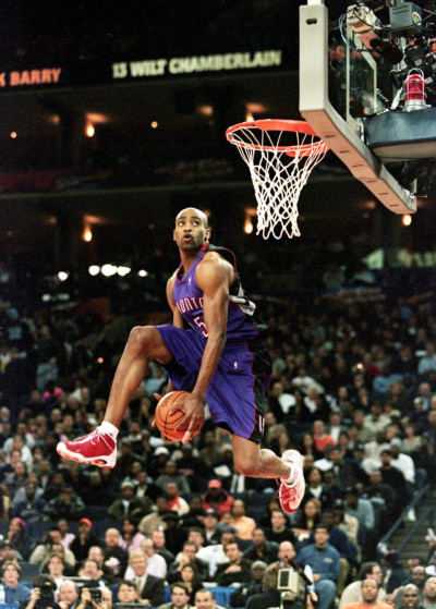Vince Carter in the 2000 Slam Dunk Contest