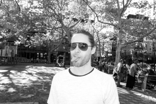 terrysdiary:  Jared Leto in the park #2