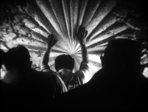 In conjunction with Jay DeFeo: A Retrospective, we're screening Bruce Conner's 1967 film THE WHITE ROSE—which captures the removal of DeFeo's nearly one-ton masterpiece, The Rose, through the window of her second-story studio—through May 12. Bruce Conner (1933–2008), still from THE WHITE ROSE, 1967. 16mm film, black-and-white, sound; 7 minutes. © Conner Famiy Trust. Image courtesy the Conner Family Trust