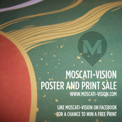 moscativision:  Limited poster sale on #Alien, #JamesBond and #Kaiju prints.