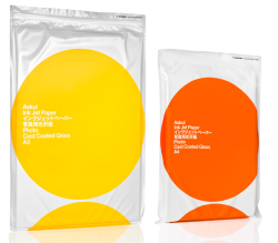 Ink paper packaging by Stockholm Design Lab.