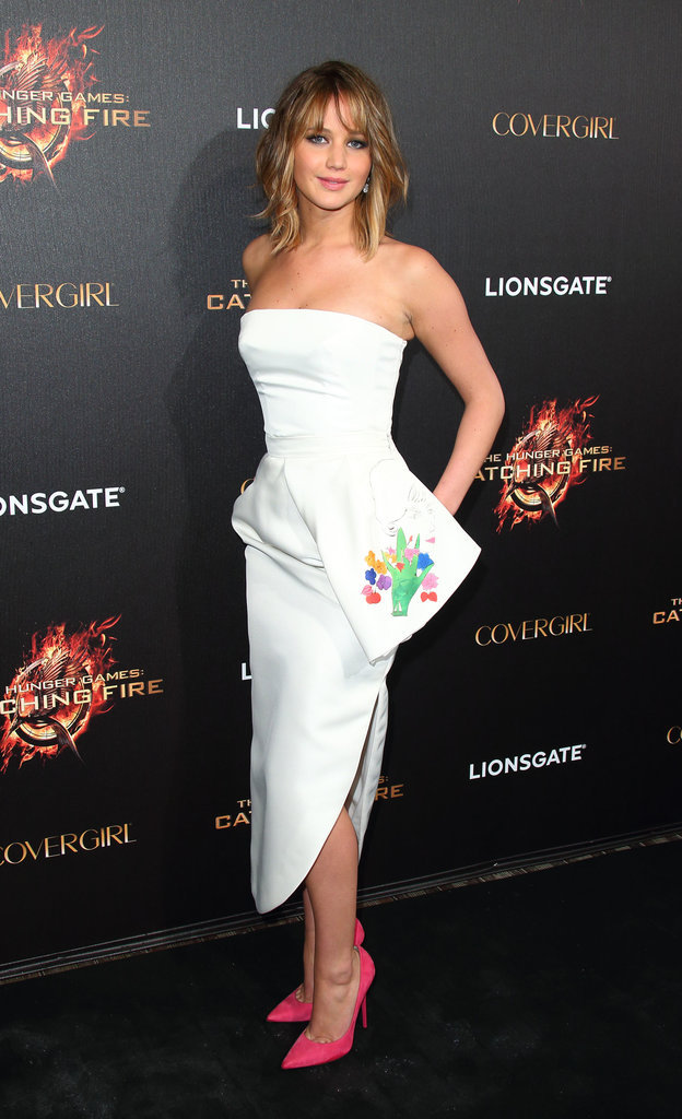 mirnah:  Jennifer Lawrence at the afterparty for her film The Hunger Games: Catching Fire in Cannes.
