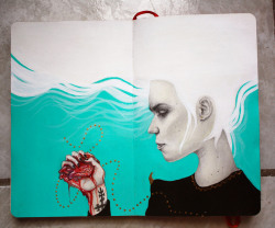 """I love grimes! and i love drawing things about her… So i just want to share with you what i did :)""amazing!!!"