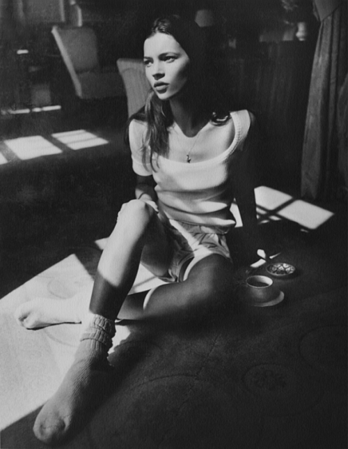kate moss photographed by kate garner