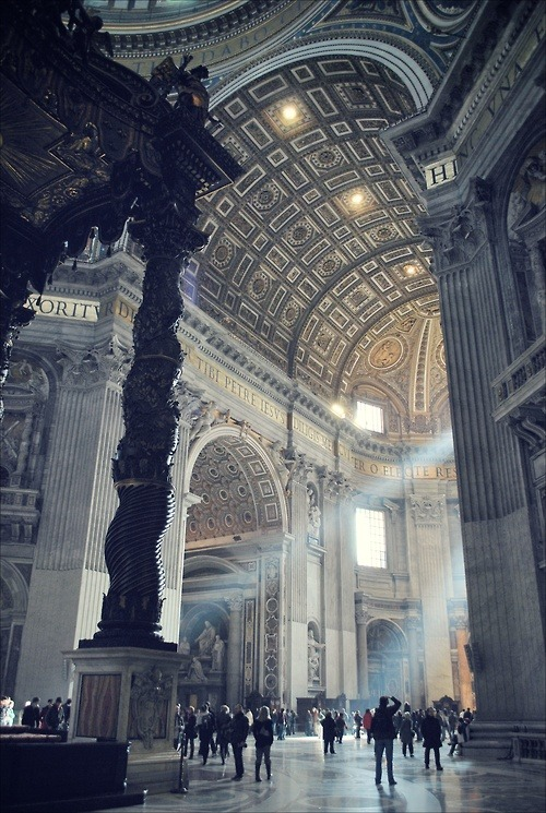 ziadm:  St. Peter's Basilica in Vatican City i will visit it one day isA