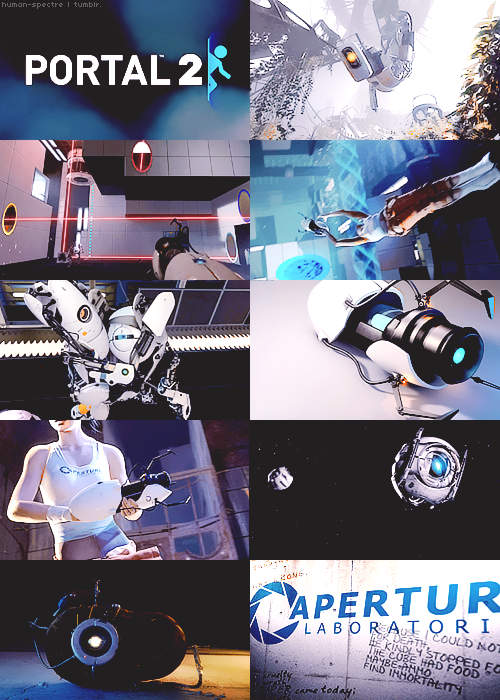 "30 DAY VIDEO GAME CHALLENGE Day 06 - Best gameplay? Portal 2 (2011).          ""Science isn't about why, it's about why not!"""