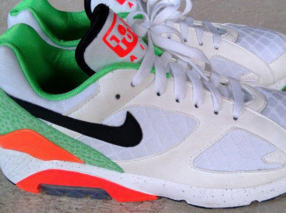 one-norf:  Nike Air 180 Green Safari