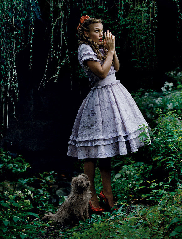 Keira Knightley - Vogue by Annie Leibovitz, December 2005