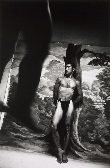 nodistinguishingfeatures:  Mishima as St. Sebastian by Hosoe Eiko, 1963