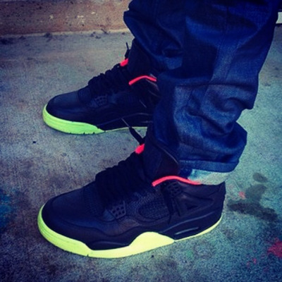 "Air Jordan IV ""Yeezy 2"" Customs…link for purchase is on Sneakernews.com on Flickr."