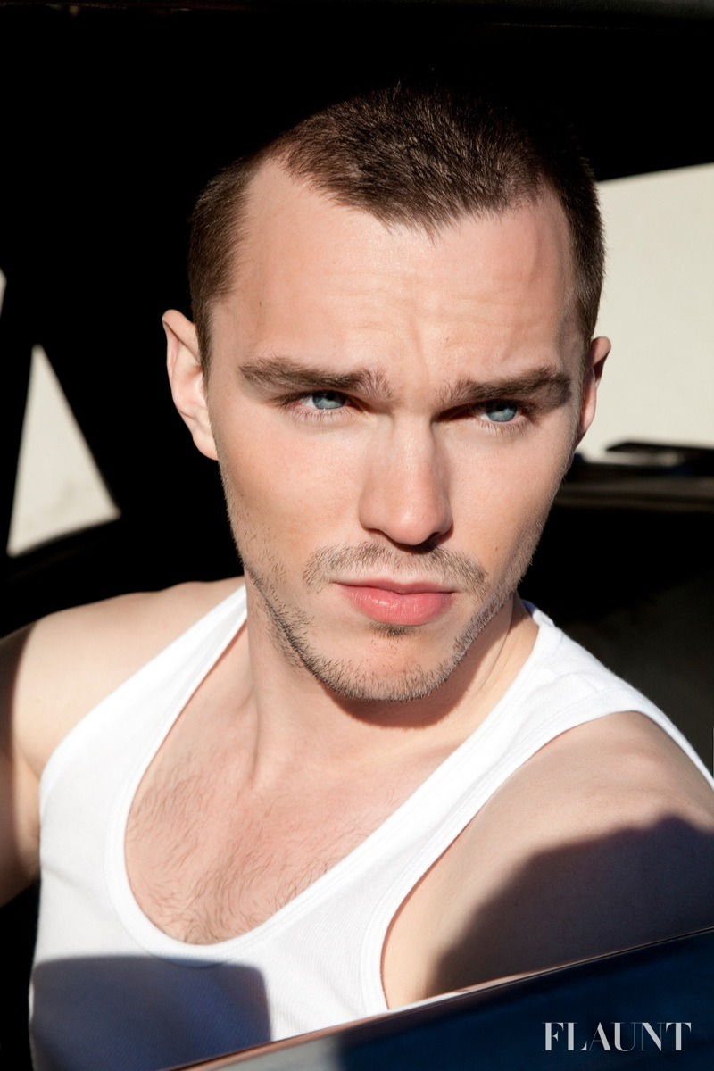 ireallylovalot:  NICHOLAS HOULT GRACES THE PAGES OF FLAUNT