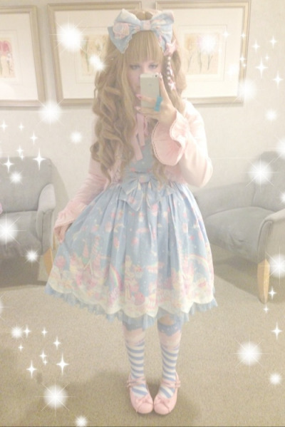 princesskage:  Went to the mall with friends~! ♪( ´▽`)☆彡