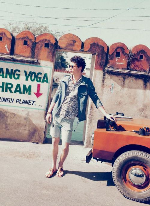 Simon Nessman in Band of Outsiders.  Photography: Arnaud Pyvka