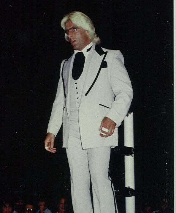 The Nature Boy, stylin' and profilin'.