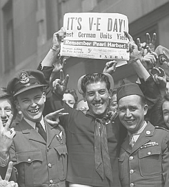 Happy Victory In Europe Day! (May 8th, 1945)