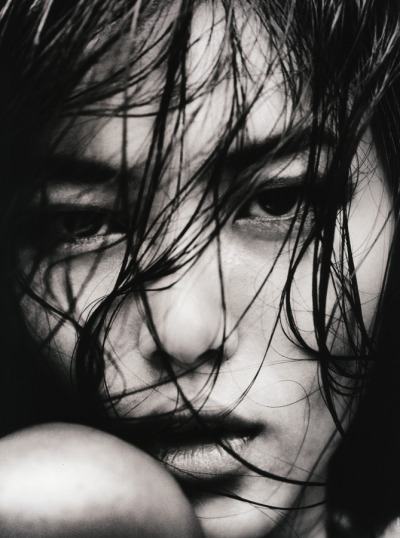 voguelovesme:  Liu Wen by Txema Yeste for Antidote, Fall 2012