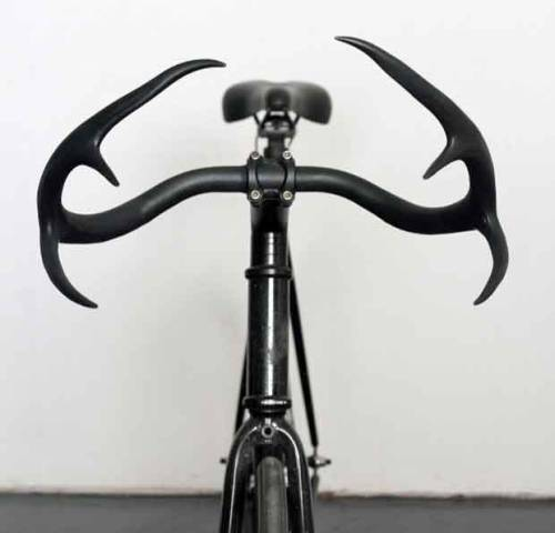 Antler Handlebars by Taylor Simpson Design. Nice idea — but no. No, no, no, no…