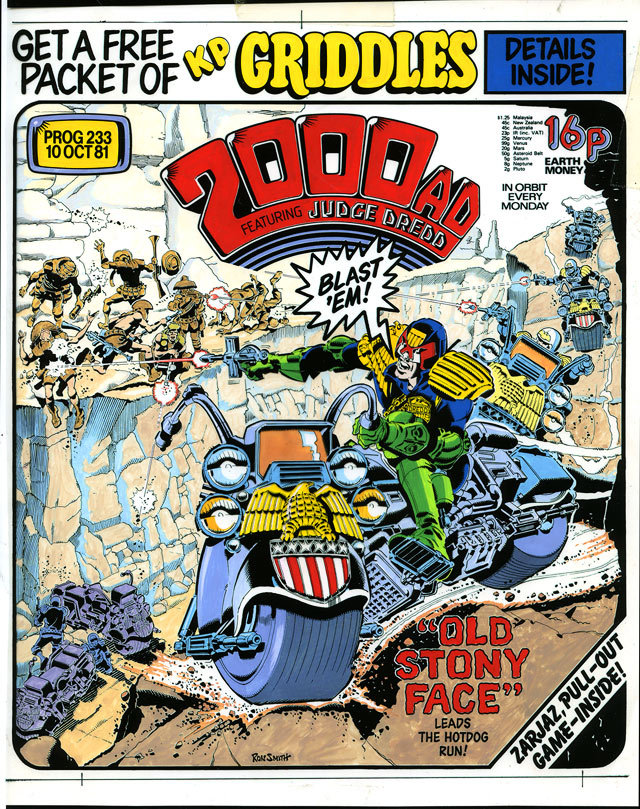 2000 AD Prog 233 Ron Smith