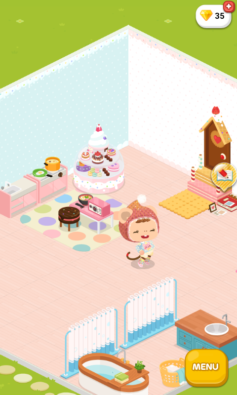 My house is pretty kawaii.