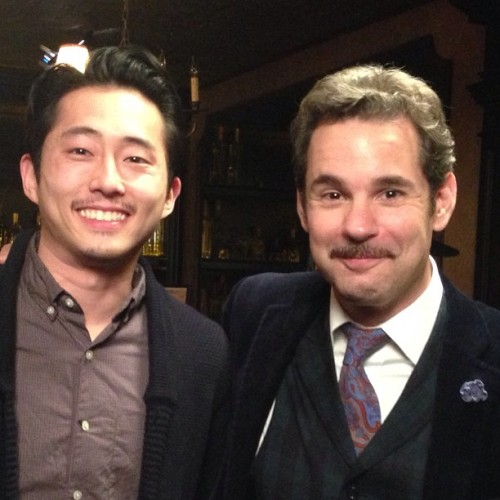 Upcoming on Speakeasy with Paul F. Tompkins: The Walking Dead's Glenn, Steve Yeun! My first interview with an alumnus of Monkapult!