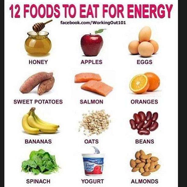 12 foods for energy #fitandrich #beautiful #summer #cute #me #girl #tbt #IGers #instagood #instacollage #latergram #photooftheday #instamood #tweegram #iphoneasia #iphoneonly #menswear #streetwear #mensclothing #fashion #charliefi #chihuahua #health #fitness #wealth #luxury #designer