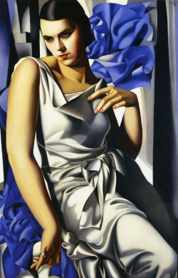 jealous-guy:  Portrait of Mrs M (1932) - Tamara de Lempicka  <3