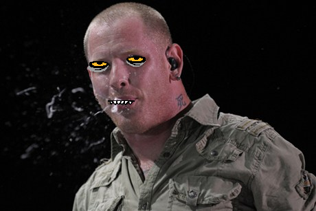 Karkat's face on Corey Taylor (request by sonicfire68)