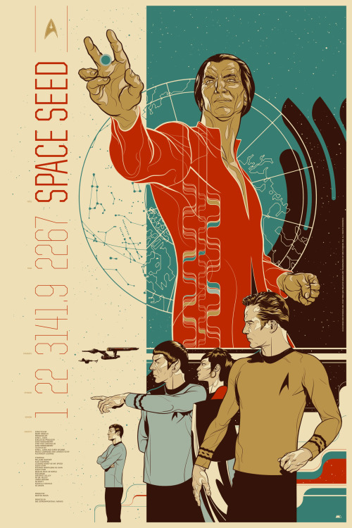 jesus-frankenstein:  Space Seed by Martin Ansin