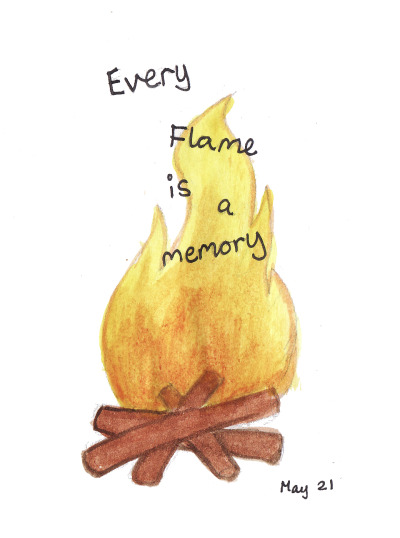 116/365 every flame is a memory :)