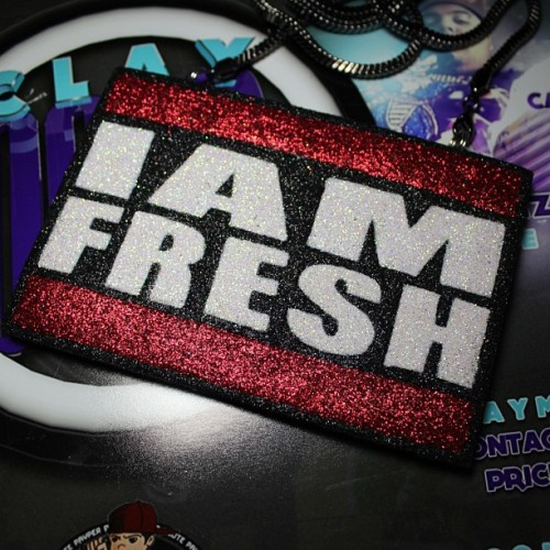 Get your #claydope today #fresh #iamfresh #producer #pro #beats #beatmaker #keyboard #industry #music #slaps #clayart #claychain #chain #chains