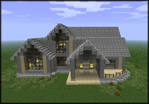 Next gen minecraft cool things to build in minecraft for Things to consider when building a house