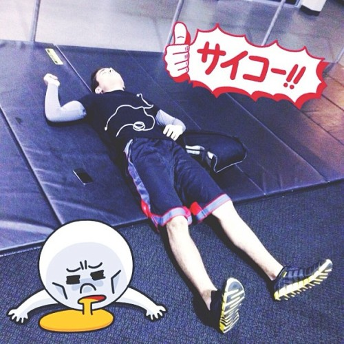 After today's leg workout. 😁 #fitness #lol #kawaii #gym #training