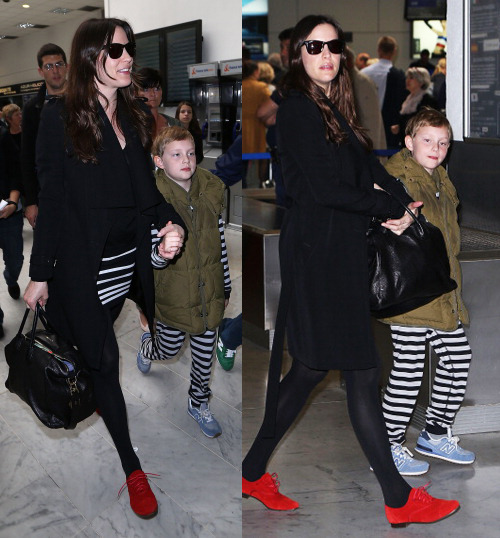 lovelylivtyler:  Liv Tyler arrives at Nice airport to attend Cannes Film Festival - May 16, 2013