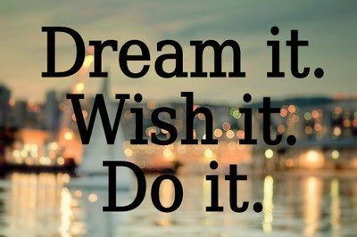 #just live your dream