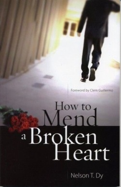 "Mending A Broken Heart (Part 1)  Let me share how having a broken heart could lead you to be a better person by God's grace and love.  All of us knew how hard it is to mend a broken heart. When I first saw this at a christian bookstore, I grabbed it and read the first few pages and bought it.   It was 7 years ago, I experienced the pain of being broken hearted. Lahat yata ng mga kantang naririnig ko relate na relate sa akin. Pati mga palabas sa telebisyon pakiramdam ko karamay ko ang lahat. Kapag mag-isa ako dumating na sa puntong sinabi ko sa Panginoon, ""Take me Lord!!! Ngayon na!!!"" (Lahat yata nang nasasaktan linya yan!) Being on that state is never been easy and it will never be. I never thought it will come to me. I am one of God's strongest warrior. What I have learned in love, courtship and marriage seminar will help me a lot! I even had a pile of books from Joshua Harris, Elizabeth Elliot and many more. I knew at 20 years, I am more equipped! I finished my studies with no strings attached even though one of my inspiration ask to court me but I stand on what God wanted me.   Tama nga yun sinabi ng isang sikat na manunulat, ""The best teacher of all is experience."" Pumasok ako sa isang OJT na tinatawag na PAG-IBIG. Akalain mo lahat ng natutunan ko nawalang lahat. Grabe laging may Senate Debate ang utak at puso ko. Paunahan kung sino sa dalawa ang unang magtataas ng puting bandera. It was never easy to put what you have learned and applied it especially when you do not experience it.  My first heartbreak was when I was in 18years old. I prayed for this man for 8years (You read it right! 10years old pa lang nagdadasal na ako para sa future husband ko! Boom!) He was a close family friend. Everybody knew I love him except him. Akala ko siya na nga. I have learned do not assume. Sinabi niya, ""When I reached 30years old, we will get married."" Ayun! Boom! Naniwala naman ako!!! I was with him when he was courting someone. I was with him when he was confused if he wants to court a christian friend. I was with him when he was mending a broken heart. Then I woke up one day and he left to the place I am not able to be with him. Lalim! Ang sakit! Walang paalam! Napakanta na lang ako, ""Sa kanya pa rin babalik sigaw ng damdamin. Sa kanya pa rin sasaya bulong ng puso ko. Kung buhay man ang ala-ala nang ating nakaraan. Ang pagmamahal at panahon alay pa rin sa kanya.""   I stopped attending the church. The church where I grew my talents for the Lord. The place where I nurture my love for him. I stopped because I need to check my motives. Am I attending church for the Lord or just to see him? I decided to attend at Word of Hope where my Mom became a Christian. I remember that time there was a huge young people waiting downstairs distributing pamphlets every end of services. I could remembered Pastor Marvin. Sobrang kulit. Hindi niya ako tinatantanan. Attend daw ako ng Youth Alive. Mag-eenjoy daw ako. Pero nung mga oras na yun wala sa isip ko ang bumalik sa Youth Ministry.   WAKE UP CALL: 3PM Service preached by Pastor Manuel about Peter getting out of his boat. The passage pierced my heart and I break down. I cried. For the first time, I asked God for guidance and I prayed to heal my heart and help me to let go.   First Stage: God allowed me to grieved for my loss. I cried and opened my heart to the Lord. I asked him to take away this love I have for that person and He has the power to give and take it away.   Second Stage: Taking the one step of faith of letting go. It was never been easy. It is so hard to be out of your comfort zone. Grabe! Ang hirap! Pero kagaya ni Peter. He fixed His eyes on Jesus. Voila!!! He was able to walked on water!!! I thanked God because He never left me hanging. He put right people around me. I started to join Barnabas(Youth Alive's New Believers Class). But still I am not attending Youth Alive. I met a lot of new friends. It was life changing.  Third Stage: Art of Moving On. Just like Peter, he was discouraged when he saw the winds and waves approaching toward him and he fall. Moving on is a transition. You need a lot of courage to leave the past behind and face the present. However, Jesus never let Peter to be drown instead he rescued him. Jesus will never leave us nor forsake us. While we are hurting, he is also hurting. He is there sympathizing with us. He knows our struggles. The battle is not ours, the Lord already won for us. All we have to do is open pur hearts and allow Him to love us."