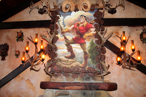 magicaldisneyworld:  Inside Gaston's Tavern on Flickr.