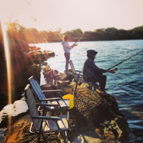 6.30am fishing. #latergram